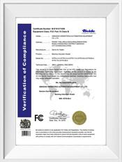 欧洲标准FC设备认证