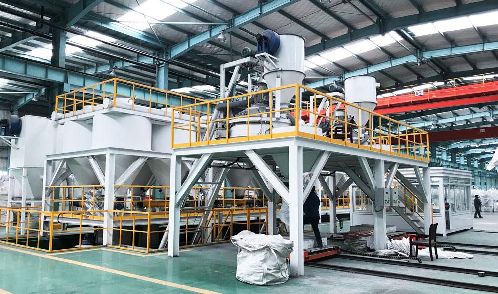 散装料自动生产线